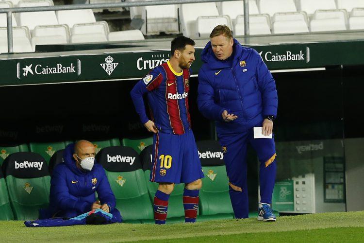 Ronald Koeman Lionel Messi