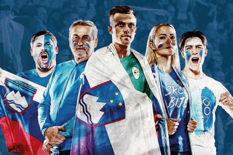 NZS Dviga Slovenija zastave