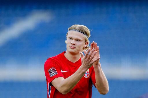 Norveška Erling Haaland