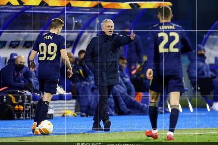 Mourinho Dinamo Tottenham