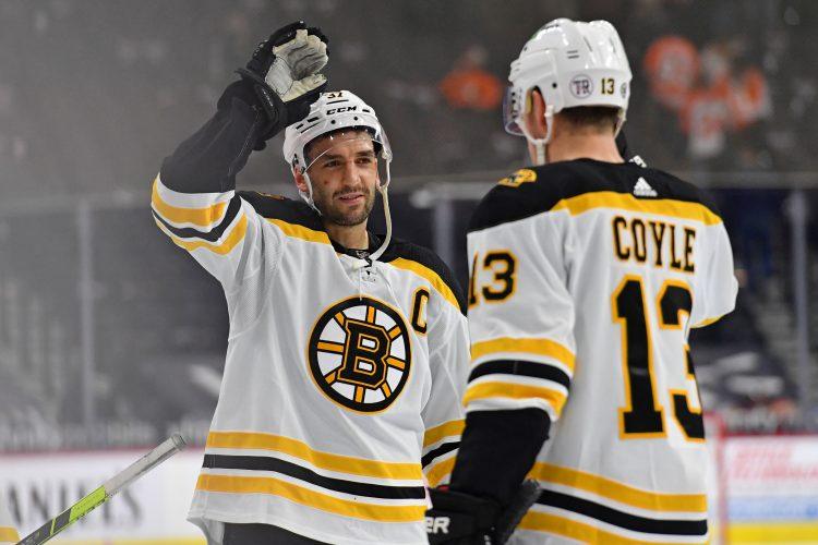 Bergeron hokej NHL Boston Bruins