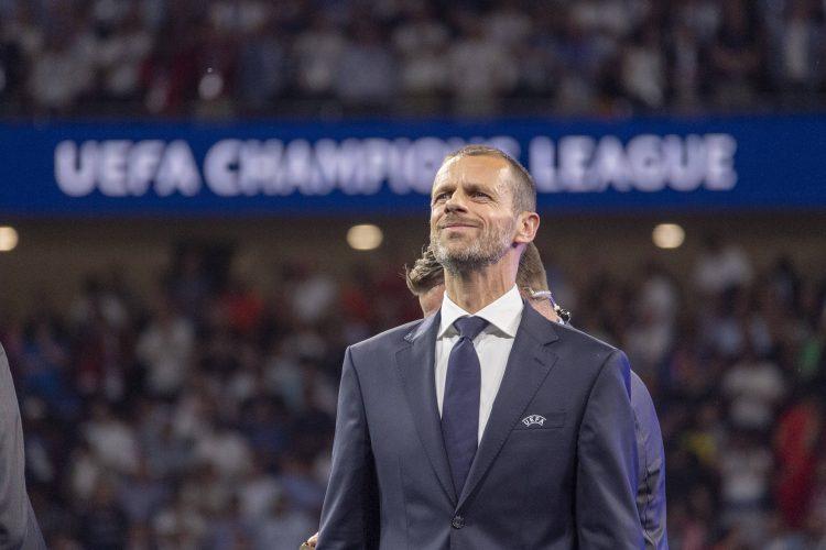 Aleksander Čeferin, UEFA