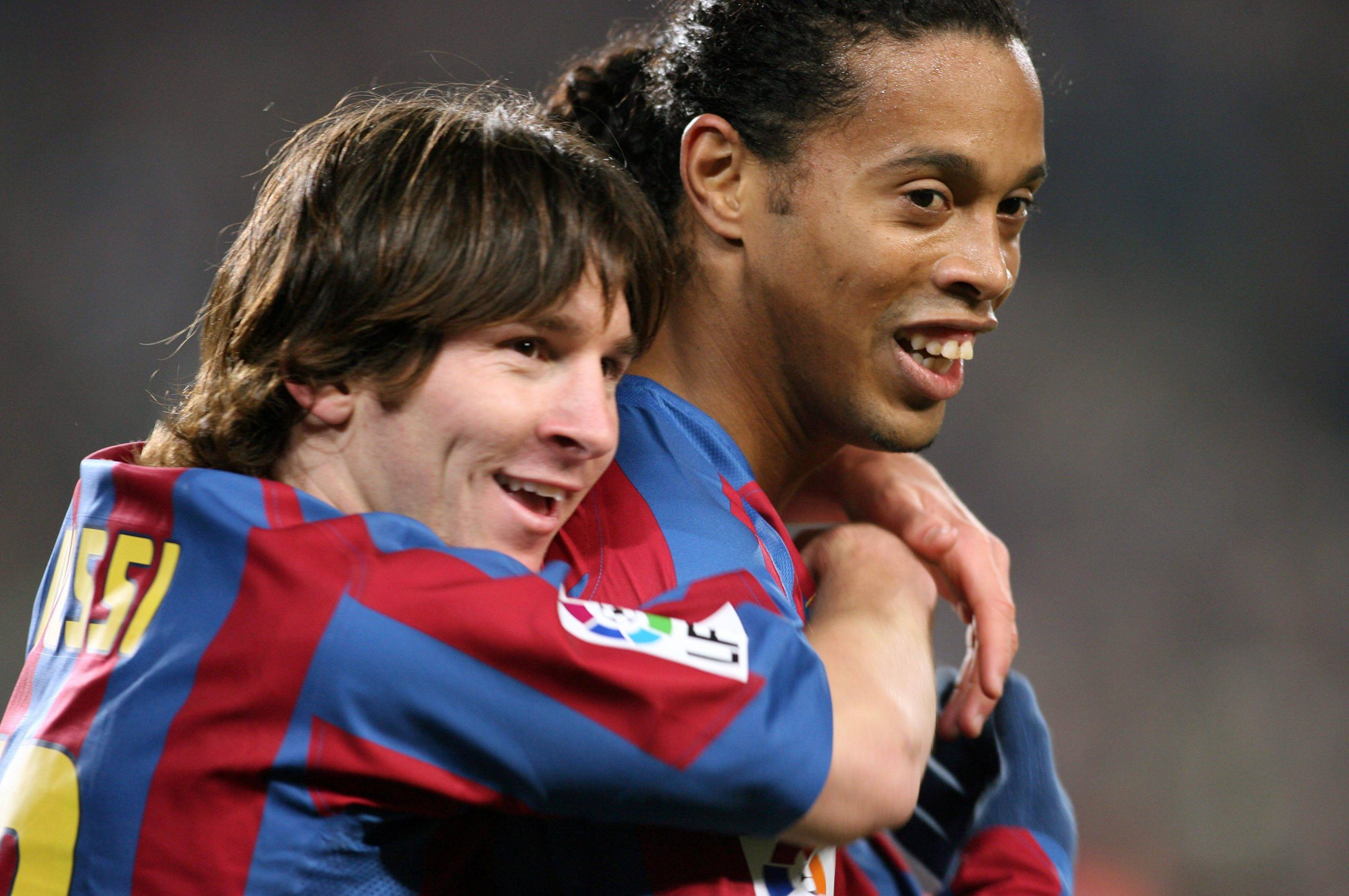 Ronaldinho Lionel Messi