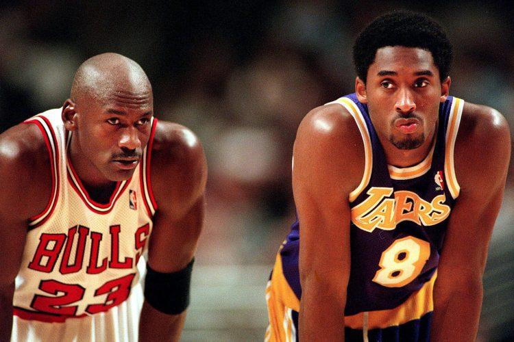 Michael Jordan in Kobe Bryant