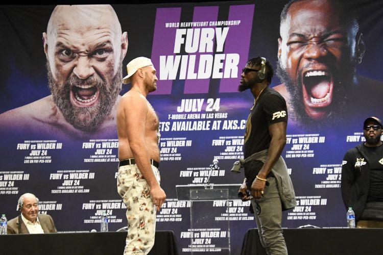 Tyson Fury Deontay Wilder
