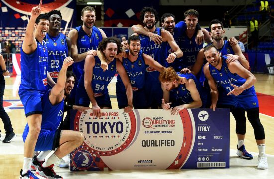Italijanska košarkarska reprezentanca