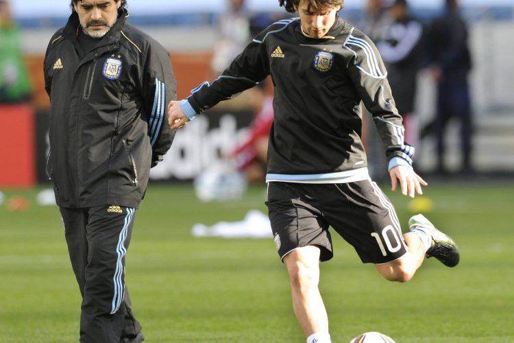 Diego Maradona, Lionel Messi