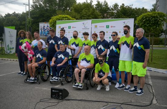 Celotna slovenska paraolimpijska odprava