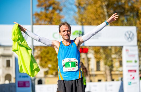 Državni prvak v maratonu 2021 Janez Mulej. FOTO: Uroš Skaza